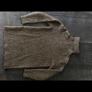 Wilfred Free Sabline Turtleneck Sweater XS Brown